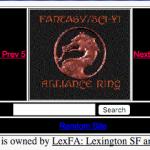 Fantasy/Sci-Fi Alliance Webring